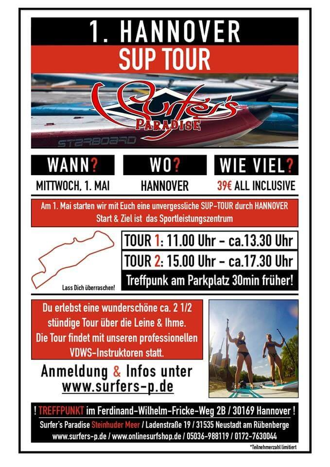 1. Mai Sup Tour in Hannover