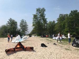 Klassenfahrt Windsurfen und Kitesurfen Steinhuder Meer