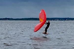 Lerne jetzt das Wingsurfen am Steinhuder Meer